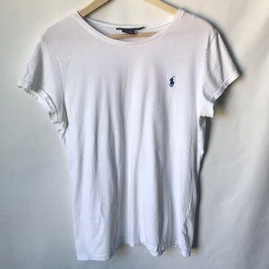 Ralph Lauren sport white classic t shirt size XL